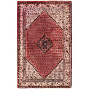 HandKnotted 4' 2 x 6' 7 Botemir Persian Rug
