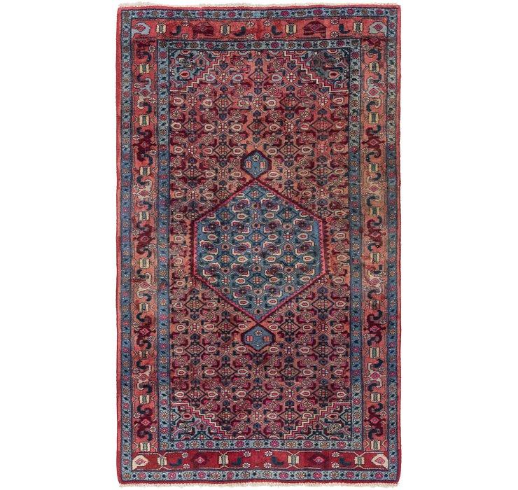 4' 2 x 7' Sanandaj Persian Rug