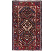 Link to 3' 8 x 6' 4 Hamedan Persian Rug