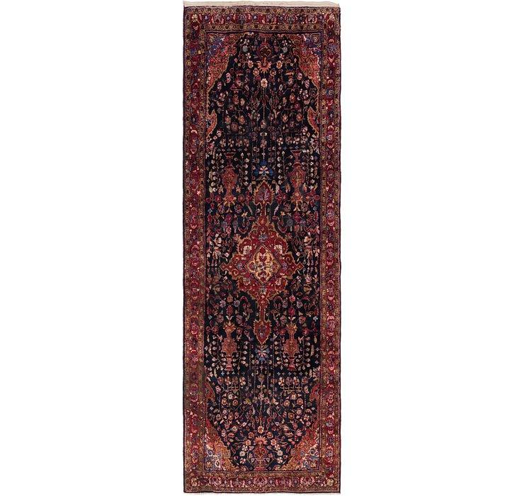 HandKnotted 5' x 16' Sirjan Persian Runner Rug