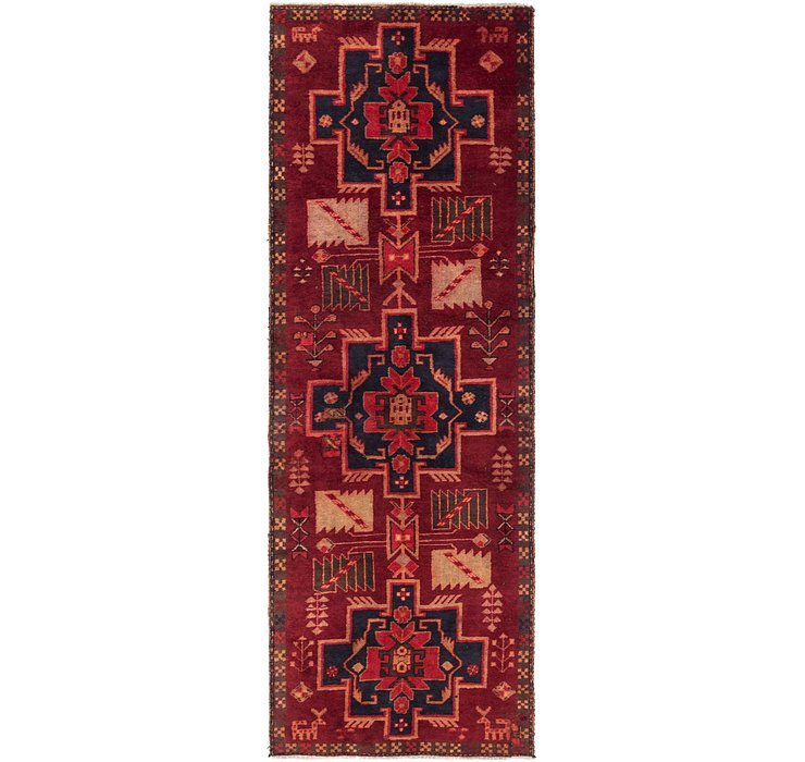 3' 2 x 9' 2 Saveh Persian Runner Rug