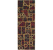 Link to 2' 10 x 8' 5 Kilim Patchwork Runner Rug