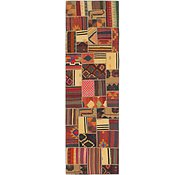 Link to 3' x 10' 3 Kilim Patchwork Runner Rug
