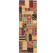 Link to 2' 10 x 8' 6 Kilim Patchwork Runner Rug
