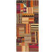 Link to 2' 10 x 6' 9 Kilim Patchwork Runner Rug