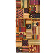 Link to 2' 10 x 6' 6 Kilim Patchwork Runner Rug