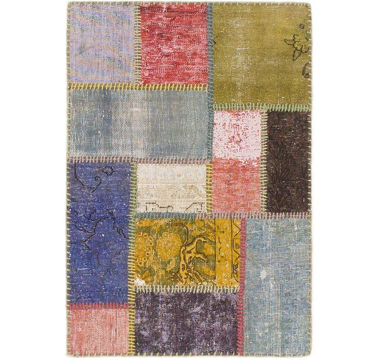 2' 3 x 3' 2 Ultra Vintage Persian Rug