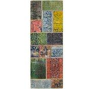 Link to 2' 5 x 6' 9 Ultra Vintage Persian Runner Rug