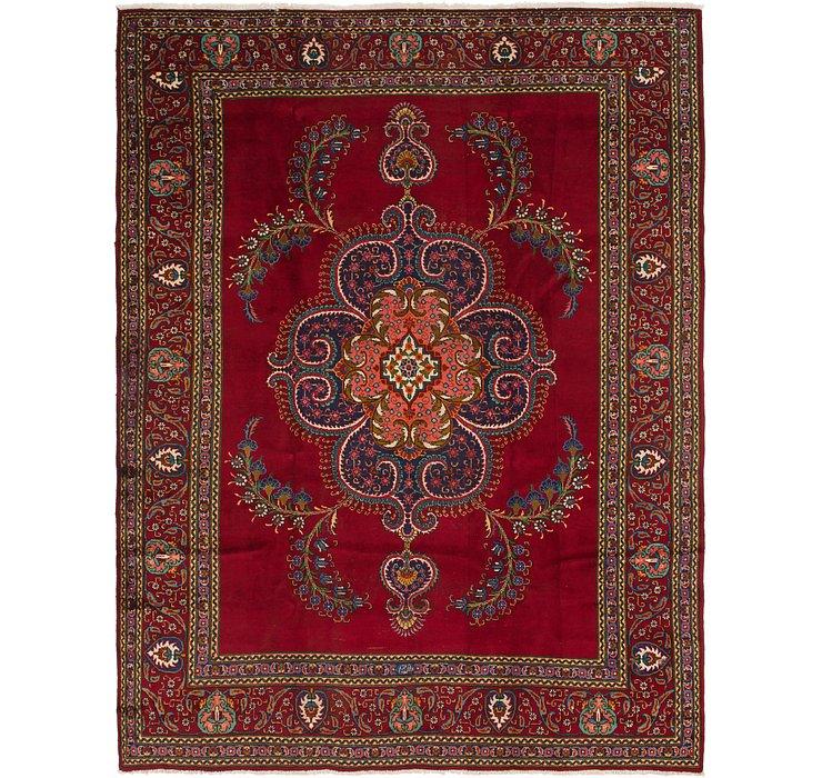 9' 7 x 12' 6 Tabriz Persian Rug