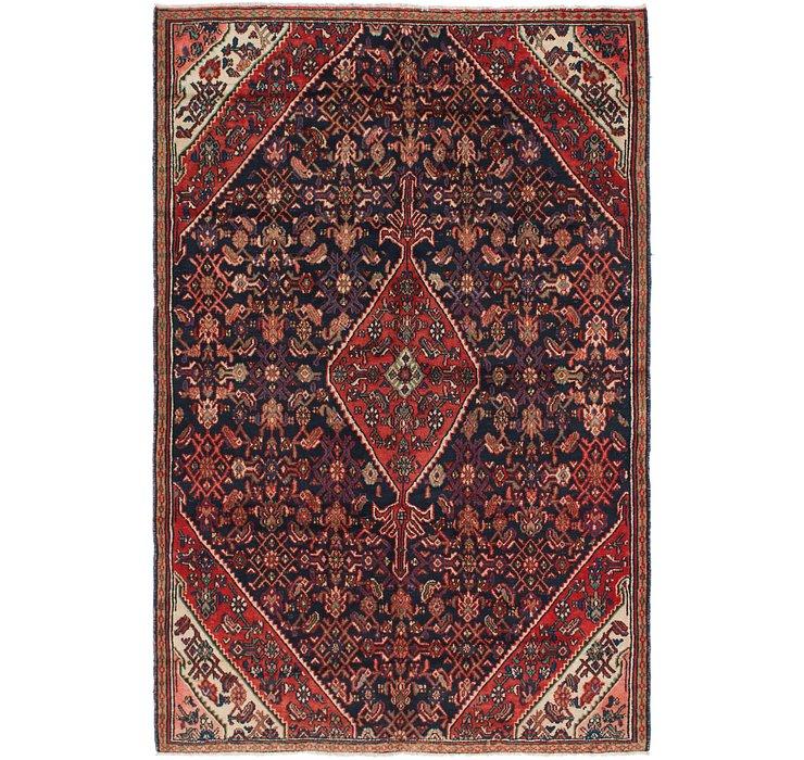 6' 4 x 9' 6 Hamedan Persian Rug