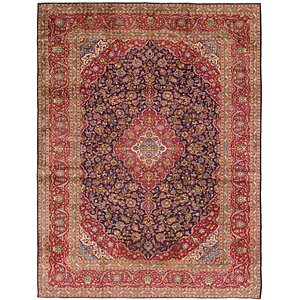 Link to 9' 10 x 12' 10 Kashan Persian Rug item page