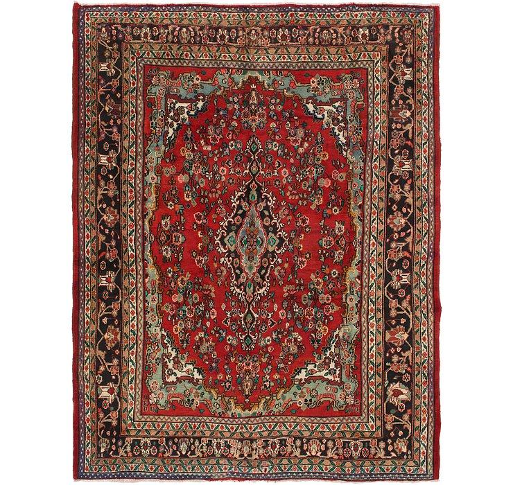 8' 8 x 12' 6 Hamedan Persian Rug