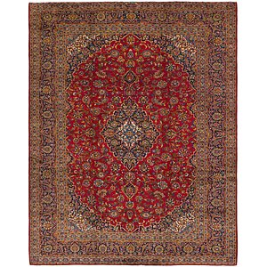 Link to 9' 10 x 12' 8 Kashan Persian Rug item page