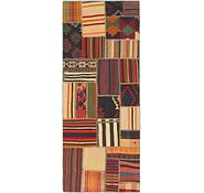 Link to 2' 9 x 6' 10 Kilim Patchwork Runner Rug