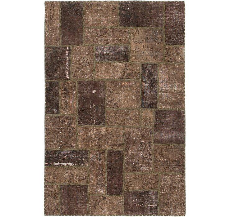 4' x 6' 2 Ultra Vintage Persian Rug