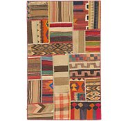 Link to 3' x 5' Kilim Patchwork Rug