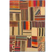 Link to 4' x 5' 9 Kilim Patchwork Rug