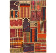 Link to 3' 4 x 5' 9 Kilim Patchwork Rug