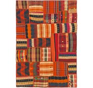 Link to 4' x 5' 10 Kilim Patchwork Rug