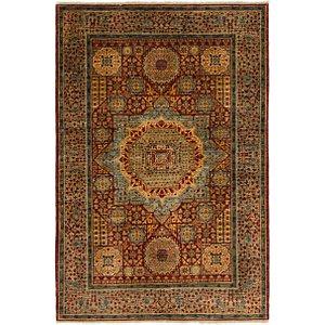 4' 1 x 6' 1 Mamluk Ziegler Oriental...