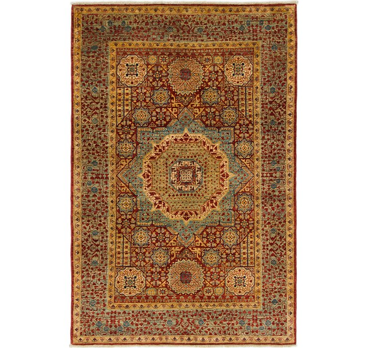 4' x 6' 1 Mamluk Ziegler Oriental...