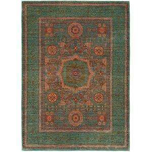 6' 1 x 7' 1 Mamluk Ziegler Square Rug