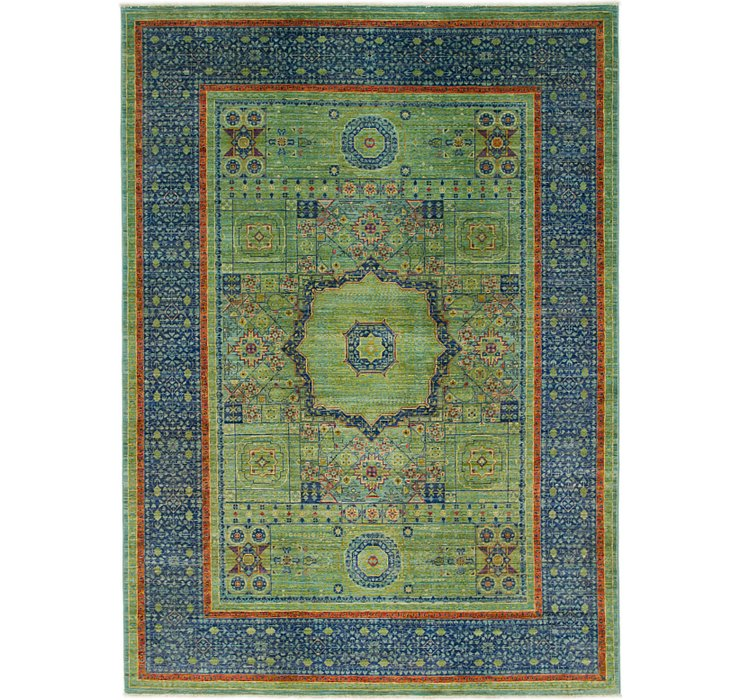 5' 8 x 8' Mamluk Ziegler Oriental...