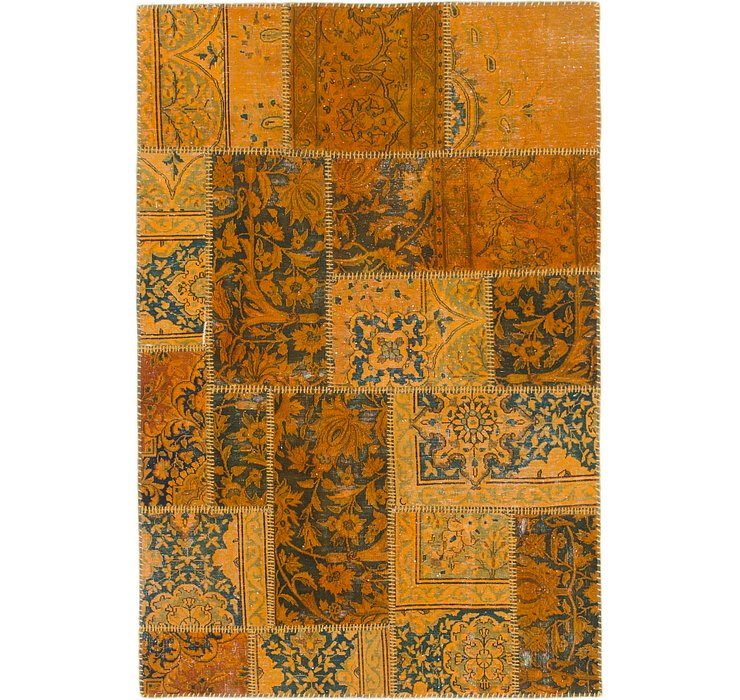 117cm x 175cm Ultra Vintage Persian Rug