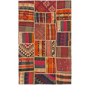 Link to 3' x 4' 10 Kilim Patchwork Rug