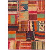 Link to 3' 5 x 4' 8 Kilim Patchwork Rug