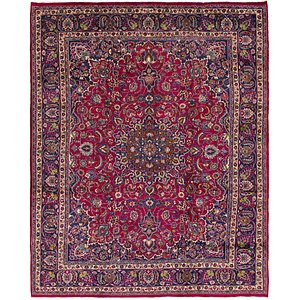 Link to 300cm x 373cm Mashad Persian Rug item page