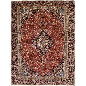 9' 2 x 12' 5 Kashan Persian Rug