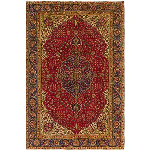 Unique Loom 6' 7 x 9' 10 Tabriz Persian Rug