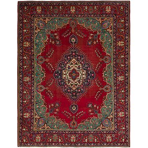 Link to 9' 10 x 13' Tabriz Persian Rug item page