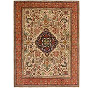 Link to 9' 6 x 12' 10 Tabriz Persian Rug