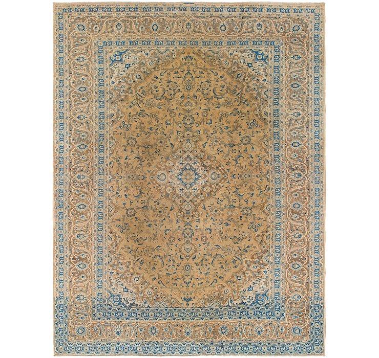 9' 5 x 12' 4 Kashan Persian Rug