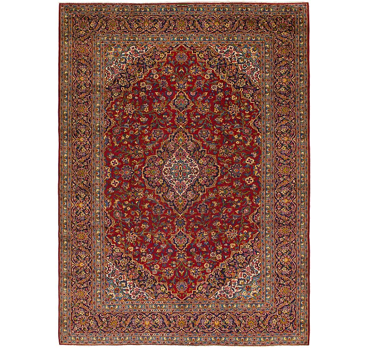 9' 9 x 13' 5 Kashan Persian Rug