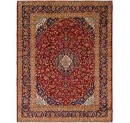 Link to 9' 9 x 12' 7 Kashan Persian Rug