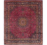 Link to 9' 8 x 11' Mashad Persian Rug