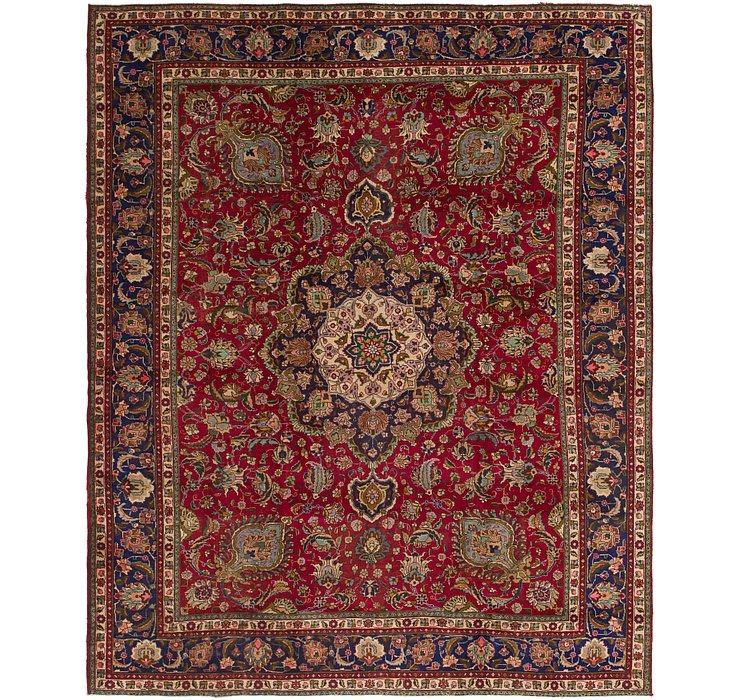 9' 9 x 12' 3 Tabriz Persian Rug