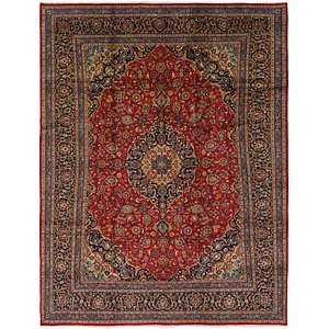 Link to 9' 8 x 12' 10 Mashad Persian Rug page