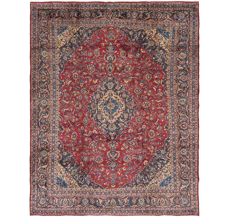 9' 8 x 12' 4 Mashad Persian Rug