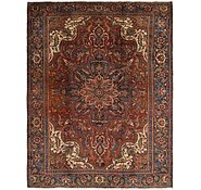 Link to 9' 9 x 12' 2 Heriz Persian Rug