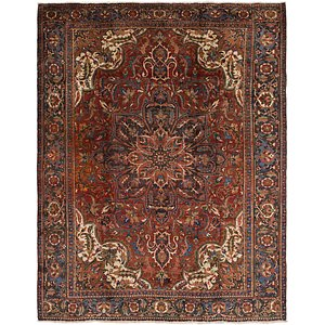 Link to 9' 9 x 12' 2 Heriz Persian Rug item page