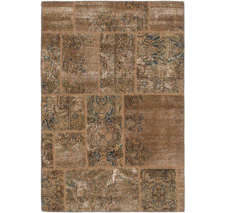 3' 10 x 5' 7 Ultra Vintage Persian Rug