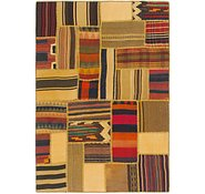 Link to 4' x 6' Kilim Patchwork Rug