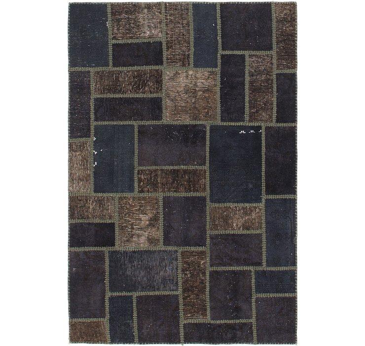 4' 3 x 6' 4 Ultra Vintage Persian Rug