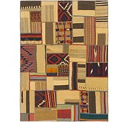 Link to 5' 2 x 7' Kilim Patchwork Rug