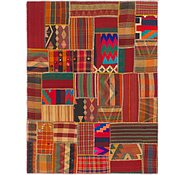 Link to 5' 2 x 6' 10 Kilim Patchwork Rug