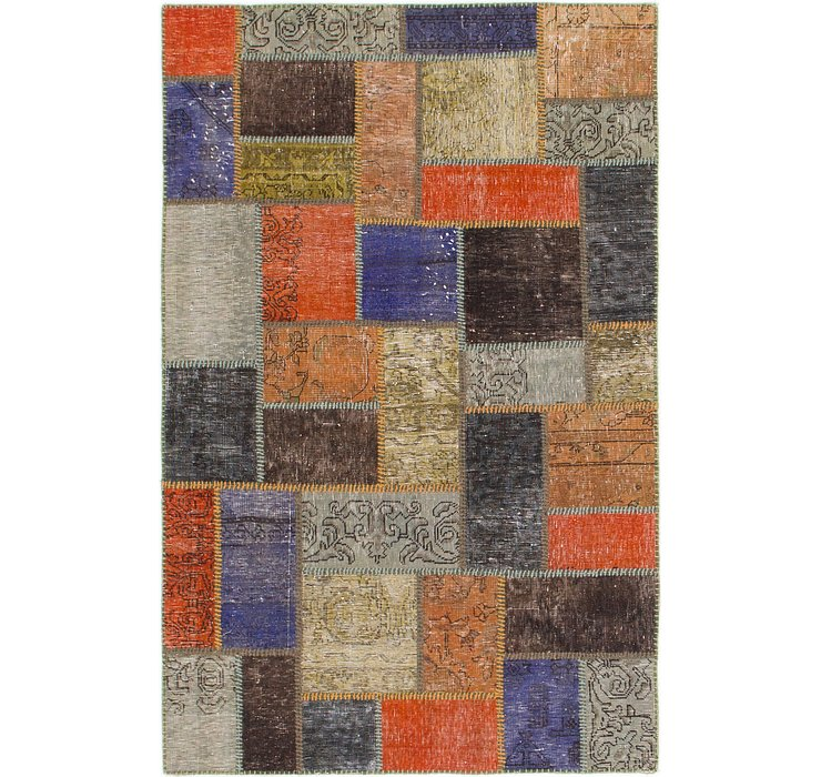 122cm x 188cm Ultra Vintage Persian Rug